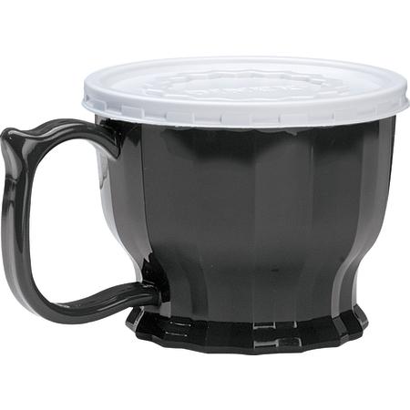 DX9000B03 - Tropez Cup, High-Temp 8oz (48/cs) - Onyx