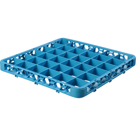 "RE3614 - OptiClean™ 36 Compartment Divided Glass Rack Extender 1.78"" - Carlisle Blue"