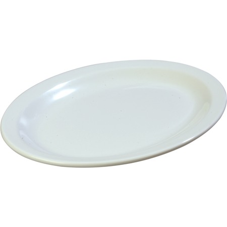 """KL12702 - Kingline™ Melamine Oval Platter Tray 12"""" x 9"""" - White"""