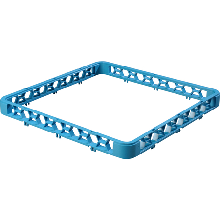 "RE14 - OptiClean™ Open Glass Rack Extender 1.5"" Extension - Carlisle Blue"