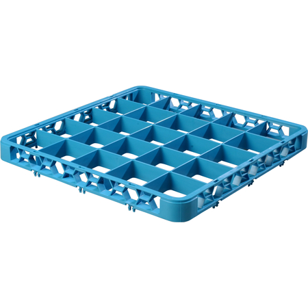 "RE2514 - OptiClean™ 25 Compartment Divided Glass Rack Extender 1.78"" - Carlisle Blue"