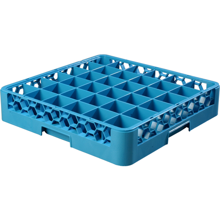 "RG3614 - OptiClean™ 36 Compartment Glass Rack 4"" - Carlisle Blue"