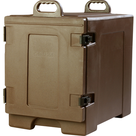 PC300N01 - Cateraide™ Insulated Front Side Loading Food Pan Carrier 5 Pan Capacity - Brown