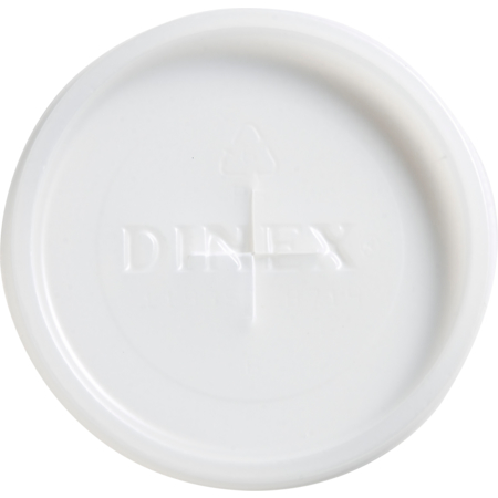 DX1193ST8714 - Classic™ Disposable Lid with Straw Slot - Fits Specific 5 - 9 oz Dinex, Carlisle and Cambro Tumblers (1000/cs) - Translucent
