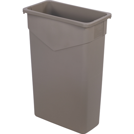 34202306 - TrimLine™ Rectangle Waste Container Trash Can 23 Gallon - Beige