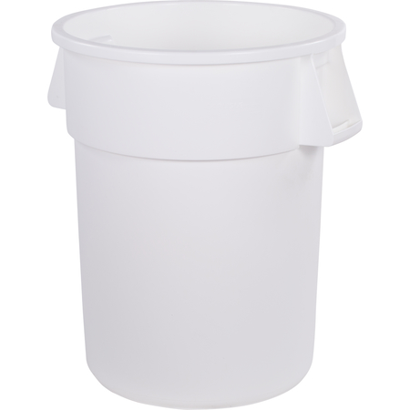 34105502 - Bronco™ Round Waste Bin Trash Container 55 Gallon - White