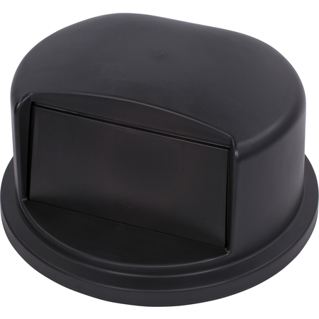 34103403 - Bronco™ Round Waste Container Dome Lid With Hinged Door 32 Gallon - Black