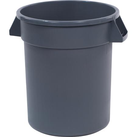 34102023 - Bronco™ Round Waste Bin Food Container 20 Gallon - Gray