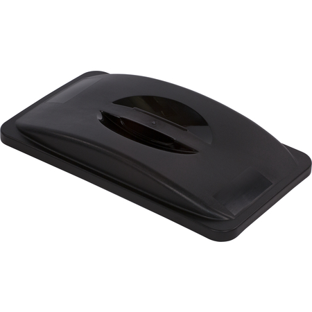 34202503 - TrimLine™ Rectangle Handled Waste Container Trash Can Lid 15 and 23 Gallon - Black
