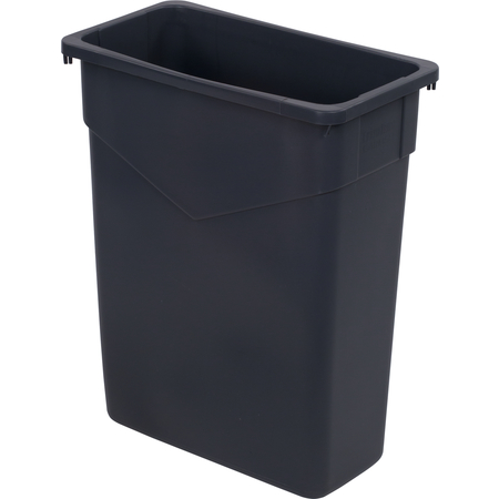 34201523 - TrimLine™ Rectangle Waste Container Trash Can 15 Gallon - Gray