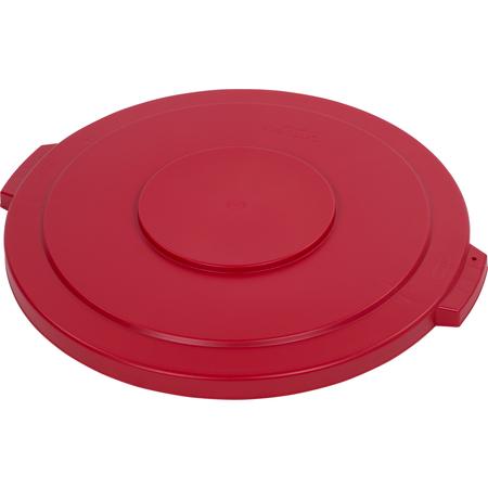 34104505 - Bronco™ Round Waste Bin Trash Container Lid 44 Gallon - Red