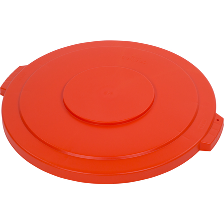 34104524 - Bronco™ Round Waste Bin Trash Container Lid 44 Gallon - Orange