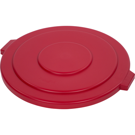34105605 - Bronco™ Round Waste Bin Trash Container Lid 55 Gallon - Red