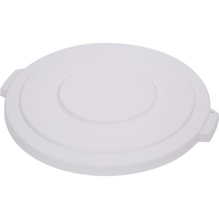 34103302 - Bronco™ Round Waste Bin Trash Container Lid 32 Gallon - White
