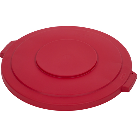 34103305 - Bronco™ Round Waste Bin Trash Container Lid 32 Gallon - Red