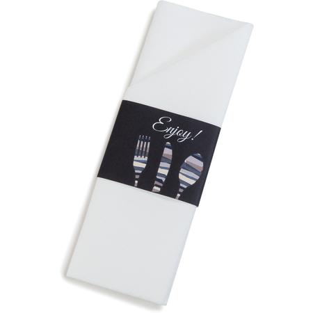 """DXCTCADNS1003 - Napkin Sleeve 16"""" x 16"""" (300/cs) - Black"""