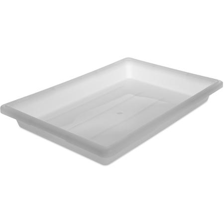 """1064002 - StorPlus™ Polyethylene Food Box Storage Container 5 Gallon, 26"""" x 18"""" x 3.5"""" - White"""