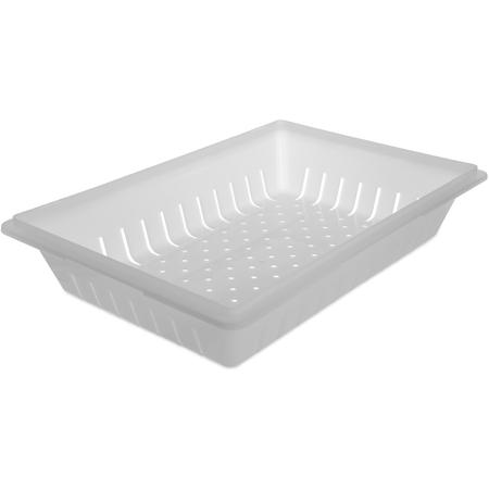 """1064802 - StorPlus™ Polyethylene Storage Container Colander 26"""" x 18"""" - White"""