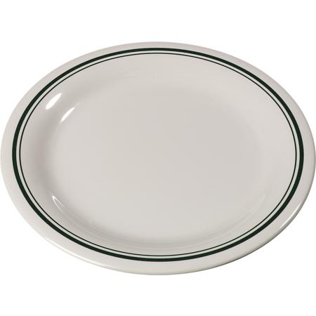 """43005905 - Durus® Melamine Dinner Plate Narrow Rim 9"""" - Orleans on Bone"""