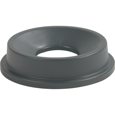 34312423 - Centurian™ Round Waste Container Trash Can Lid with Funnel Top 22 Gallon - Gray