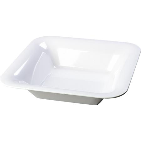 "4440202 - Designer Displayware™ Wide Rim Square Bowl 14"" - White"