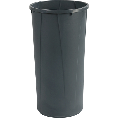 34312223 - Centurian™ Round Tall Waste Container Trash Can 22 Gallon - Gray