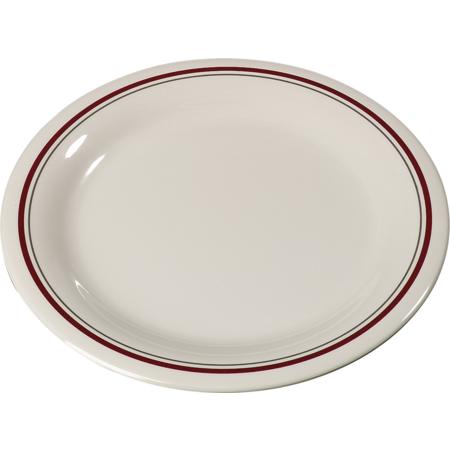 """43005903 - Durus® Melamine Dinner Plate Narrow Rim 9"""" - Morocco on Bone"""