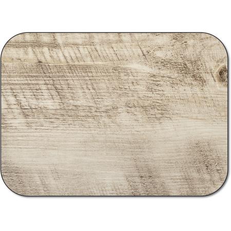 "DX5365M - Traycover Size: M w/ Straight Edge/Round Corner 13-5/8"" x 18-3/4"" (1000/cs) - Woodgrain - Brown"