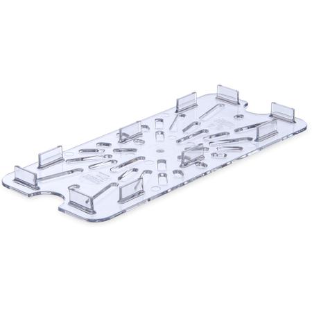 3067007 - StorPlus™ Drain Shelf - Food Pan PC 1/3 Size - Clear