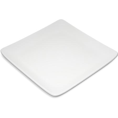 "6400902 - Grove Melamine Square Plate 9"" - off white"