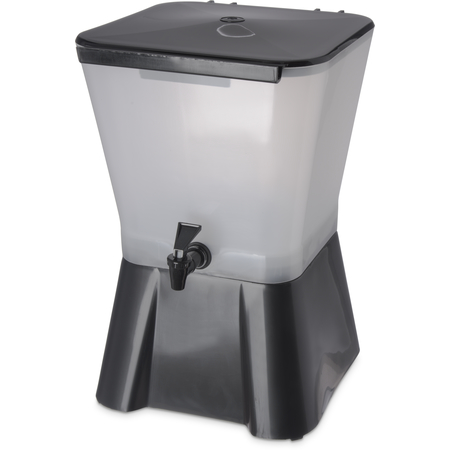 1082003 - Square Dispenser w/Base 3 gal - Black