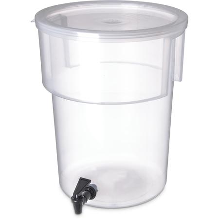 220930 - Round Dispenser 5 gal - See Thru