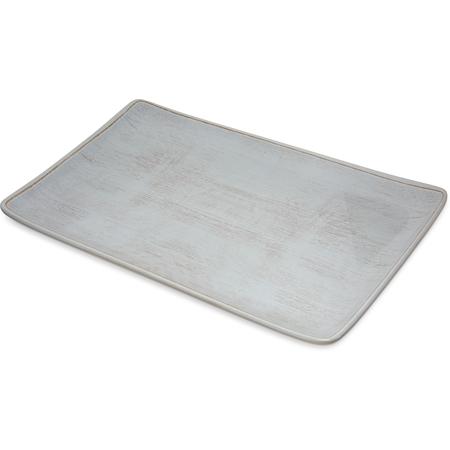 "6401506 - Grove Melamine Rectangle Platter Tray 15"" x 9"" - Buff"
