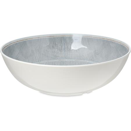 6401718 - Grove Melamine Large Bowl 5.2 Quart - Smoke
