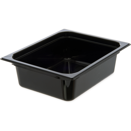 "10421B03 - StorPlus™ Food Pan HH 4"" DP 1/2 Size - Black"