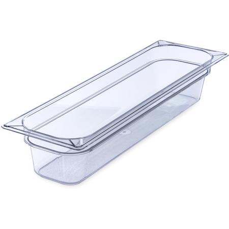"10241B07 - StorPlus™ Food Pan PC 4"" DP 1/2 Size - Clear"