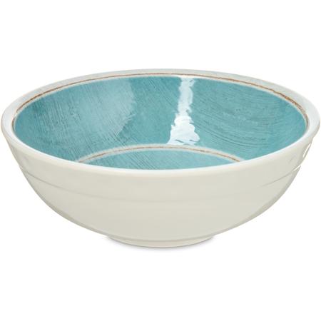 6400515 - Grove Melamine Small Bowl 17 oz - Aqua