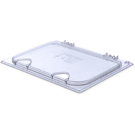 10238Z07 - StorPlus™ EZ Access Hinged Univ Lid with Handle 1/2 Size - Clear