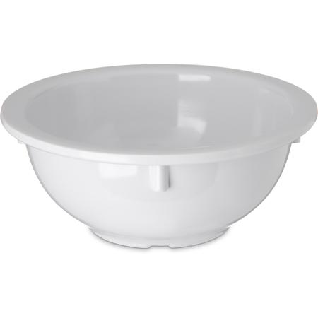 4352202 - Dallas Ware® Melamine Rimmed Nappie Bowl 14 oz - White