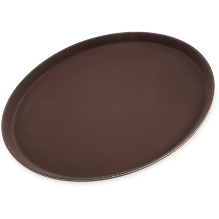"1600GR076 - Griptite™ Round Tray 16"" / 23/32"" - Toffee Tan"