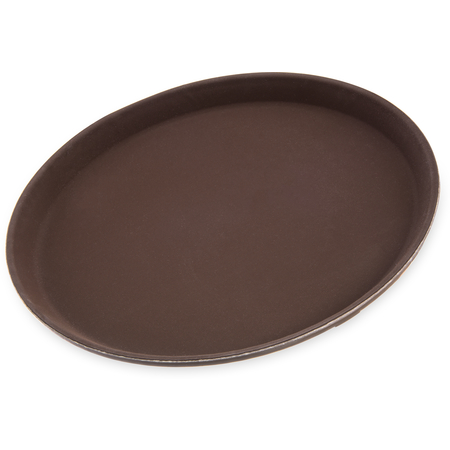 "1100GR076 - Griptite™ Round Tray 11"" / 3/4"" - Toffee Tan"