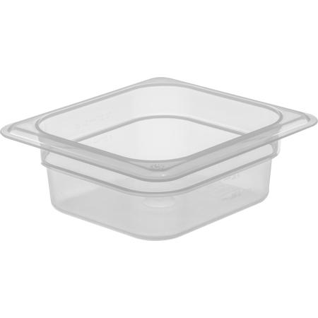 "7068330 - StorPlus™ Food Pan PP 2.5"" DP 1/6 Size - Translucent"