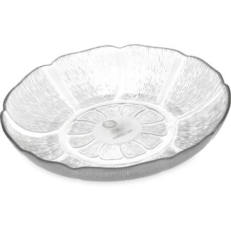 """690707 - Petal Mist® Soup/Salad Plate 23.9 oz, 7-15/16"""" - Clear"""