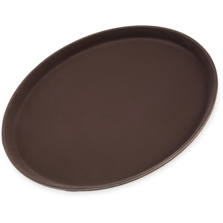 "1400GR076 - Griptite™ Round Tray 14"" / 3/4"" - Toffee Tan"