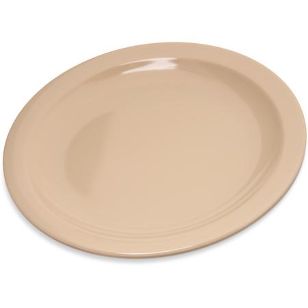 """4350425 - Dallas Ware® Melamine Pie Plate 6-1/2"""" - Tan"""