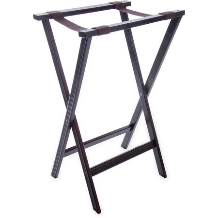 """C3620W11 - Wood Tray Stand 30"""" - Walnut"""