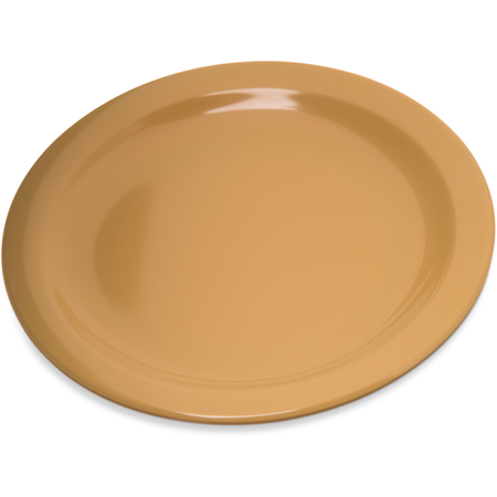 "4350322 - Dallas Ware® Melamine Salad Plate 7.25"" - Honey Yellow"