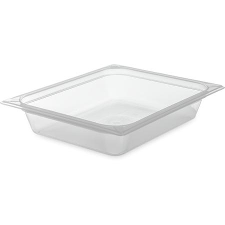 "70220B30 - StorPlus™ Food Pan PP 2.5"" DP 1/2 Size - Translucent"