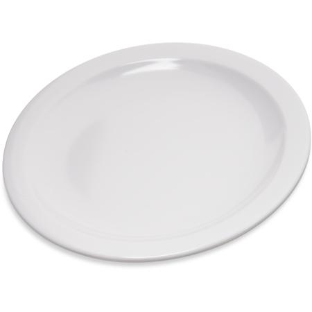 """4350402 - Dallas Ware® Melamine Pie Plate 6-1/2"""" - White"""