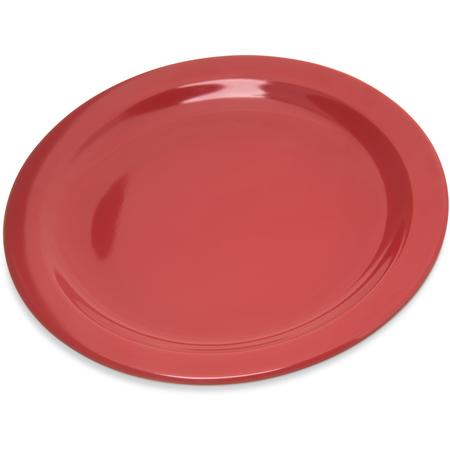 """4350305 - Dallas Ware® Melamine Salad Plate 7.25"""" - Red"""